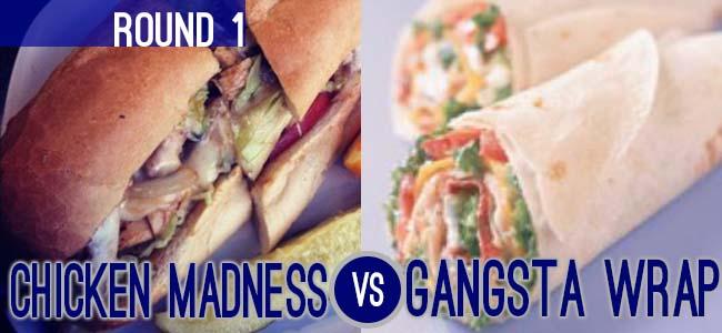 Chicken Madness Gangsta Wrap