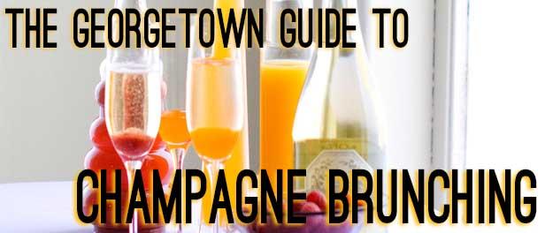 champagne brunching