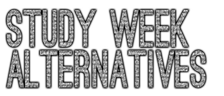 study week alternatives