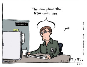 The One Place the NSA Can't See