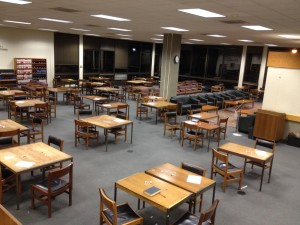 Lau 3 is completely empty. Literal ghost town.