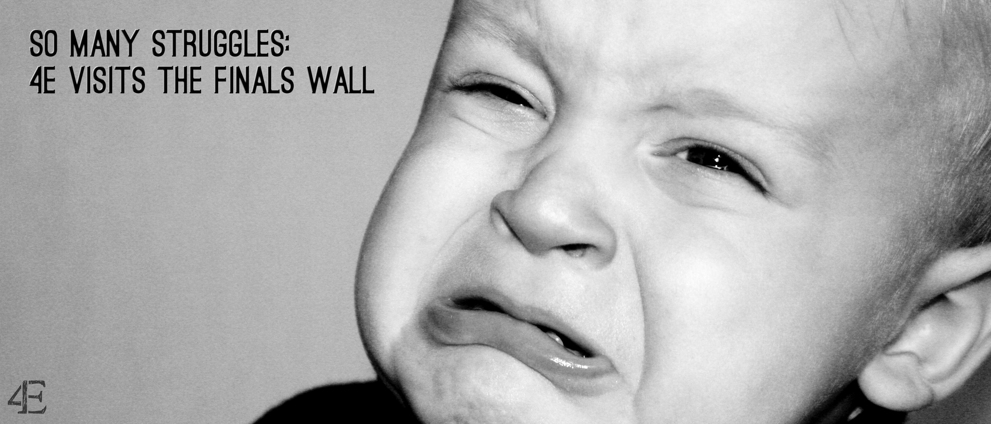 Finals Wall