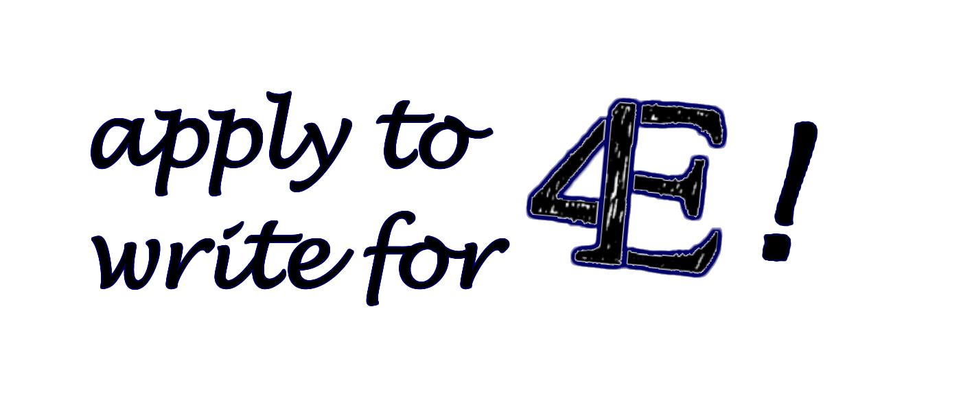 apply to write for 4e