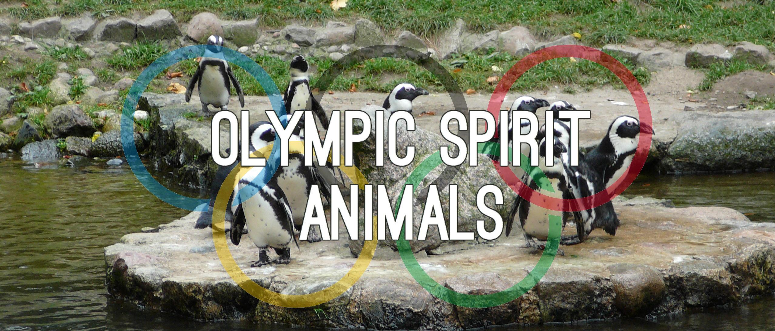 Olympic Spirit Animals