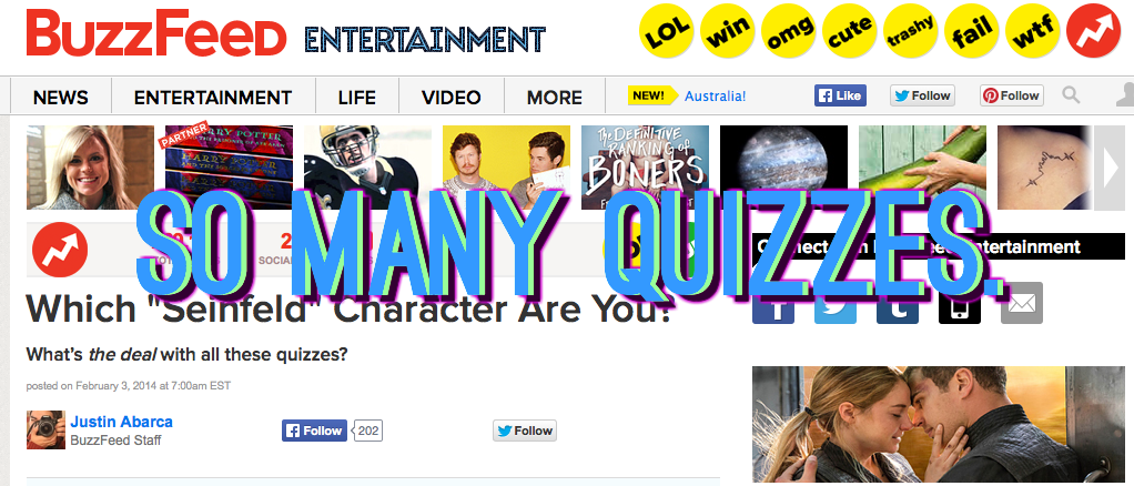 So Many Quizzes