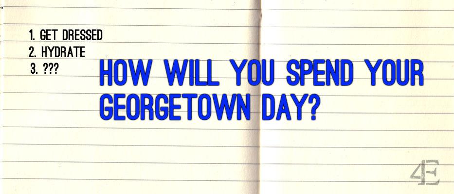 Georgetown Day Planning