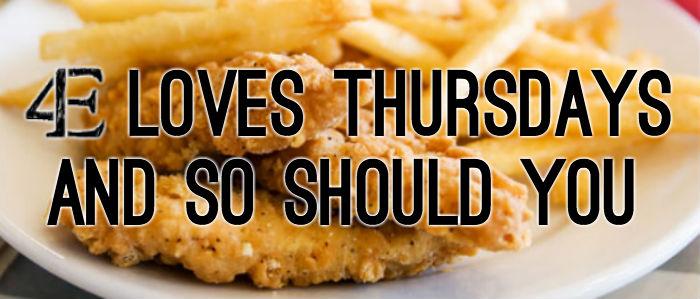 Chicken Finger Thursday