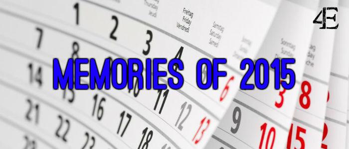 Banner - 2015 memories