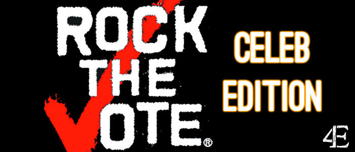 Banner - Rock the Vote