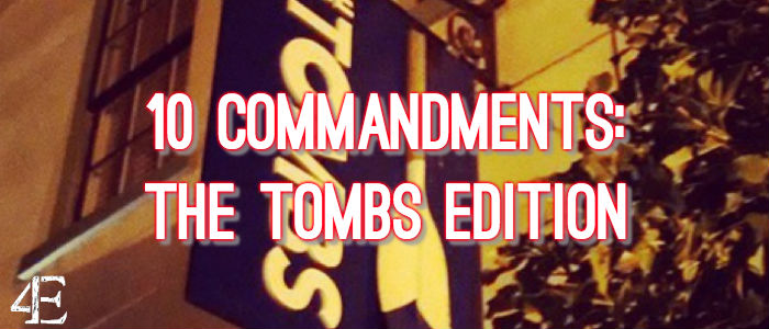 Banner - Tombs Commandments