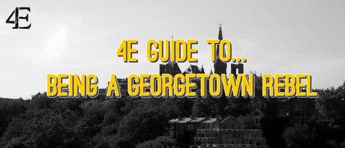 Banner - Georgetown Rebel