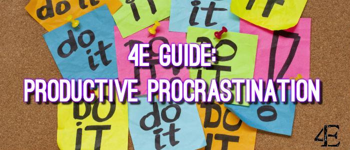 Banner - Productive Procrastination