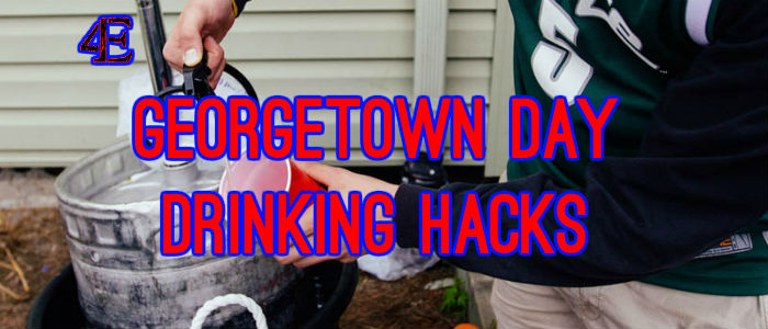 Georgetown Day Drinking Hacks