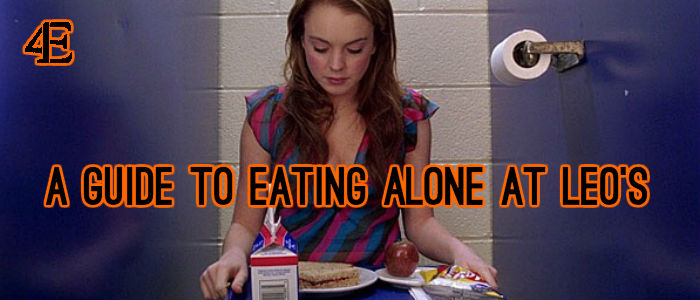 A guide to eating alone at leos