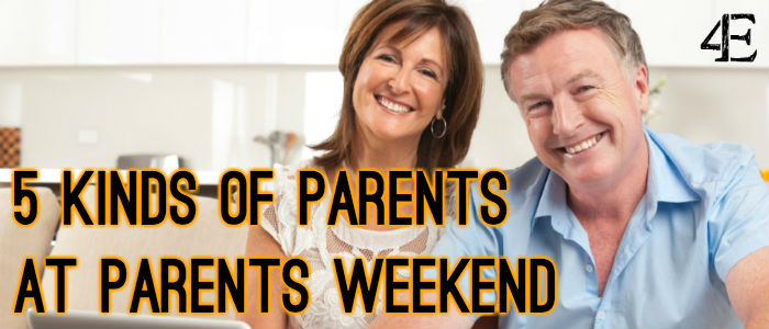 Banner - Parents Weekend