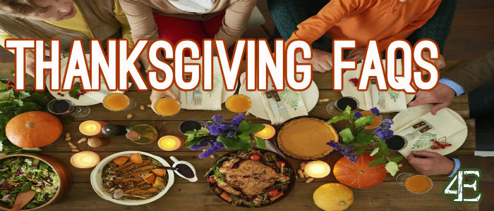 thanksgiving faqs