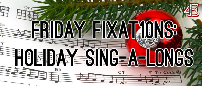 holiday sing a long